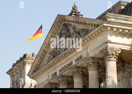 Reichstag Building 002. Berlin - Stock Photo