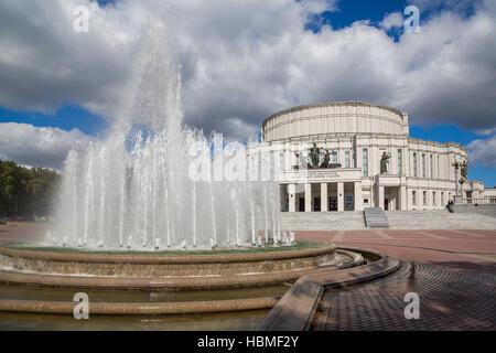 Belarus, Minsk, Opera House - Stock Photo