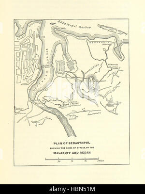 Image taken from page 165 of 'Decisive Battles since Waterloo; the most important military events from 1815 to 1887. - Stock Photo