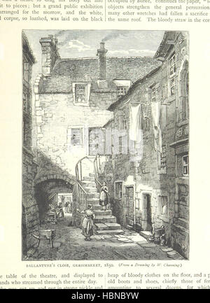 Image taken from page 275 of 'Cassell's Old and New Edinburgh, etc' Image taken from page 275 of 'Cassell's Old - Stock Photo