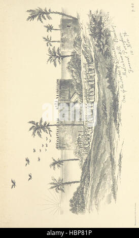 Letters written during a trip to Southern India and Ceylon in the winter of 1876-1877, etc Image taken from page - Stock Photo