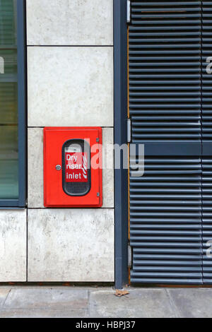 Dry Riser Inlet - Stock Photo