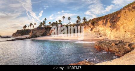 Sunset view of Treasure Island Beach - Stock Photo