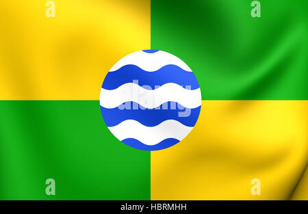 Flag of Nairobi - Stock Photo