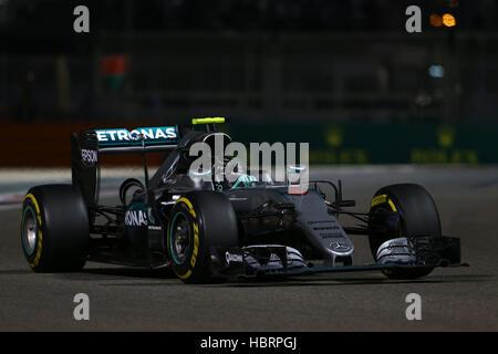 Nico Rosberg, AMG Mercedes Petronas, 2016 F1 World Champion - Stock Photo