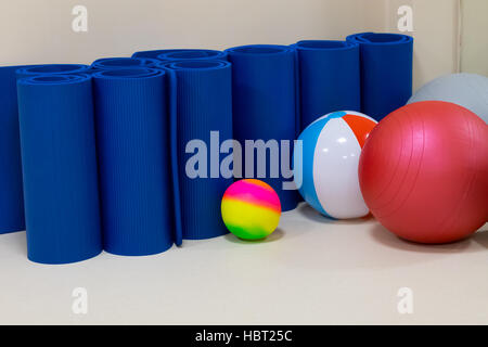 rehabilitation gym equipment - Stock Photo