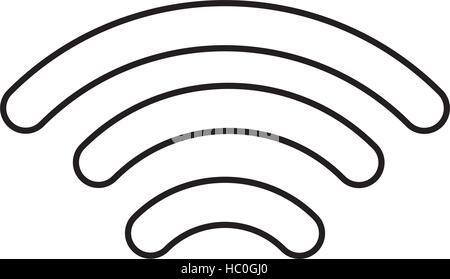 Wifi Tower Antenna Line Icon Stock Vector Art Illustration