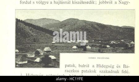 Image taken from page 270 of 'Székelyföld, etc' Image taken from page 270 of 'Székelyföld, etc' - Stock Photo