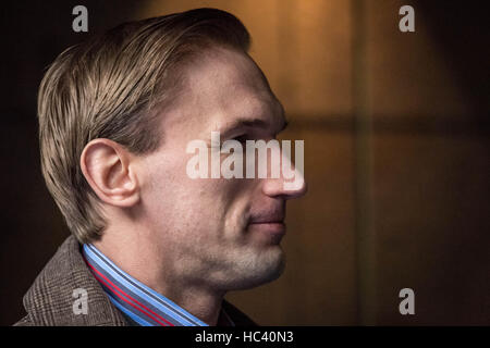 London, UK. 7th December, 2016. British doctor and television presenter, Dr Christian Jessen, arrives to attend - Stock Photo