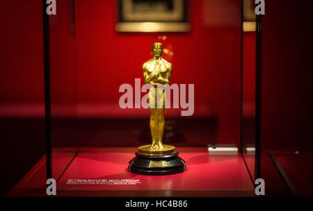 Stuttgart, Germany. 08th Dec, 2016. The Academy Award the director Lewis Milestone recieved for the film 'All Quiet - Stock Photo