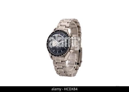 Expensive Watch on White Background - Stock Photo