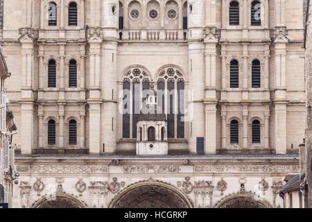 Saint Michel de Dijon in the city of Dijon. - Stock Photo