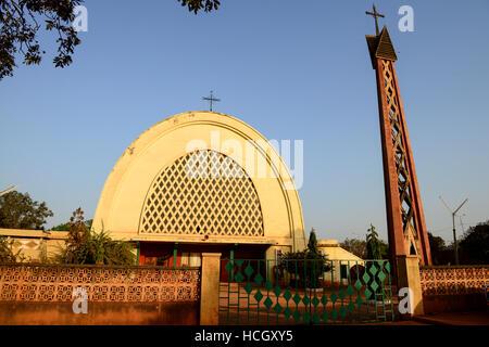 BURKINA FASO , Kathedrale von Bobo Dioulasso - Stock Photo
