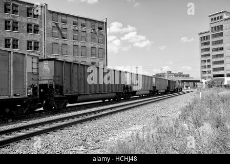 West Bottoms, Kansas City, Missouri, USA. - Stock Photo