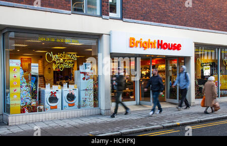 BrightHouse or Brith House in Chester, Cheshire, UK. UK Weather. 8th December, 2016. Barmy temperatures of 15C bring - Stock Photo