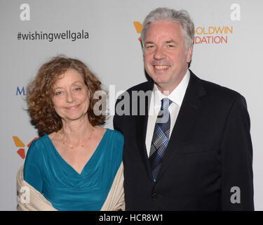 Gretchen Connelly and Chris Connelly attends the 4th Annual Wishing Well Winter Gala on December 07, 2016 at The - Stock Photo