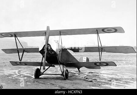 NIEUPORT 10 TRIPLANE  French First World War aircraft - Stock Photo