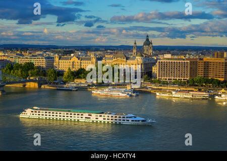 Danube River Cruise - Stock Photo