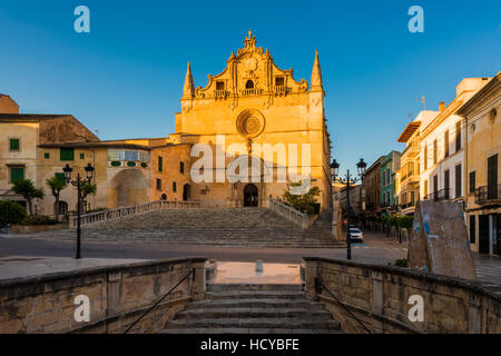 Church in Felanitx Mallorca - Stock Photo