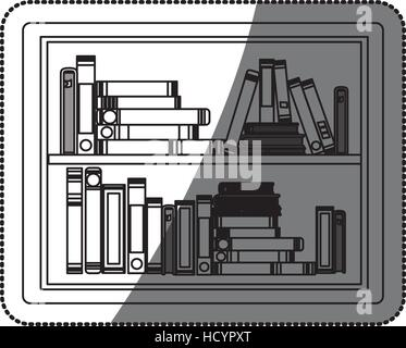 Ebook icon. Download elearning reading and electronic theme. Isolated design. Vector illustration - Stock Photo