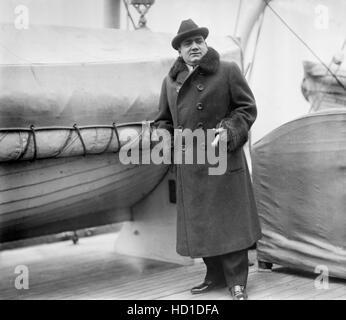 Enrico Caruso, Italian Operatic Tenor, Portrait, Bain News Service, 1913 - Stock Photo