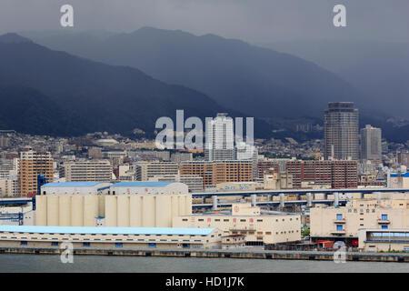 Kobe City, Honshu Island, Japan, Asia - Stock Photo