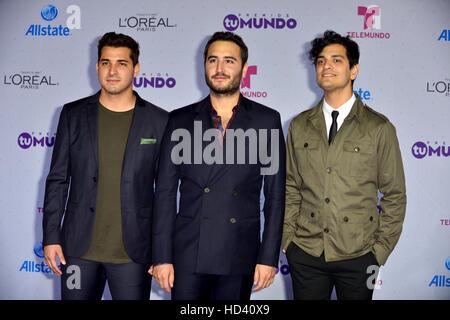 Telemundo's Premios Tu Mundo 'Your World' Awards - Arrivals  Featuring: Reik Where: Miami, Florida, United States - Stock Photo