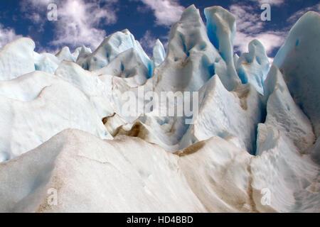 EL CALAFATE, ARG, 06.12.2016: Argentinian Perito Moreno Glacier located in the Los Glaciares National Park in southwest Santa Cruz Province, Argentina