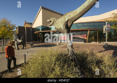 New Mexico, Albuquerque, New Mexico Museum of Natural History and Science - Stock Photo