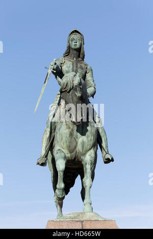 Equestrian Statue Of Joan Of Arc At Place Des Pyramides