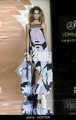 Madrid Fashion Week Spring/Summer 2017 - Dolores Cortes - Catwalk  Featuring: Ana Beatriz Barros Where: Madrid, - Stock Photo