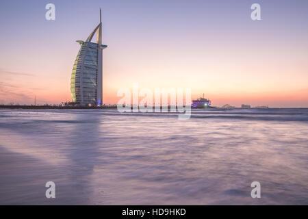 Burj al Arab, luxury, dubai, hotel, coast - Stock Photo