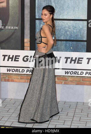 The World Premiere of 'The Girl on the Train' held at the Odeon Leicester Square - Arrivals  Featuring: Katya Jones - Stock Photo