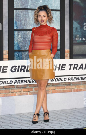 The Girl on the Train World premiere - Arrivals  Featuring: Ella Eyre Where: London, United Kingdom When: 20 Sep - Stock Photo