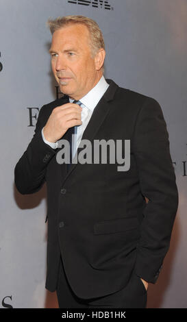 New York, USA. 10th Dec, 2016.  Kevin Costner attends the 'Hidden Figures' New York special screening on December 10, 2016 at the SVA Theater in New York City.  Credit:  MediaPunch Inc/Alamy Live News Stock Photo