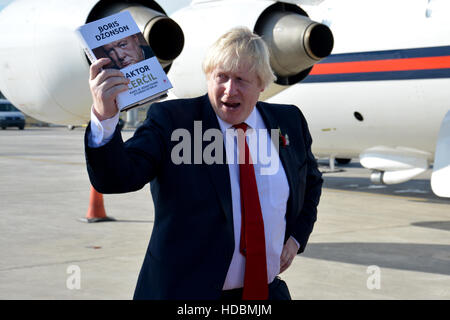 Belgrade, Serbia. November 11th 2016 - Boris Johnson, Secretary of State for Foreign and Commonwealth Affairs with - Stock Photo