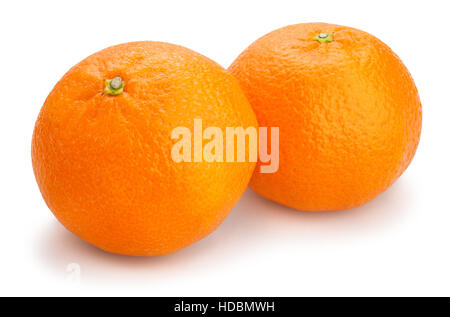 tangerine isolated - Stock Photo