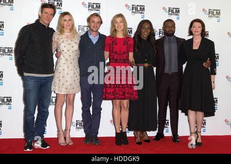 Photocall for 'A United Kingdom', the LFF Opening Night Gala held at the May Fair Hotel in London  Featuring: Amma - Stock Photo