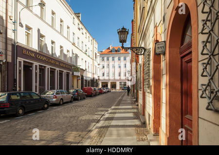 Afternoon in Wroclaw old town, Poland. - Stock Photo