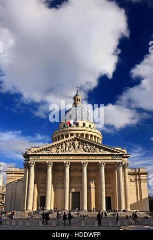 The Pantheon, Quartier Latin, Paris, France. - Stock Photo