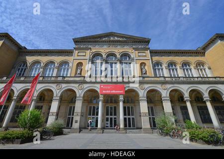 Universitaet der Kuenste, Bundesallee, Wilmersdorf, Berlin, Deutschland - Stock Photo