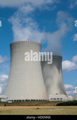 Temelín - Atomic power plant, nuclear energy, anti-nuclear movement - Stock Photo
