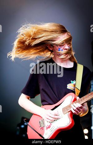 Asylums, Village Green Music and Arts Festival, Southend-on-Sea, Essex © Clarissa Debenham / Alamy - Stock Photo