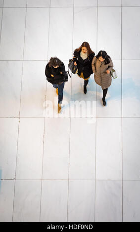 Westfield shopping center in New York, World Trade Center - Stock Photo