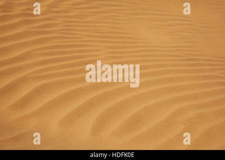 outdoor dry sand pattern dune in oman old biggest desert rub al khali - Stock Photo