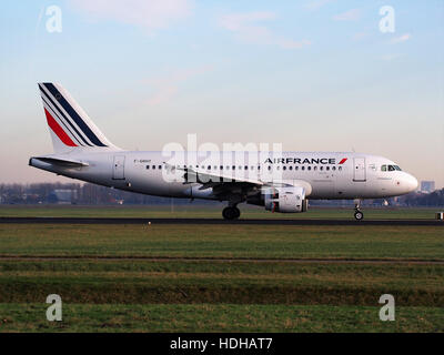 F-GRHY Airbus A319-111 (cn 1616) Air France at Schiphol pic2 - Stock Photo