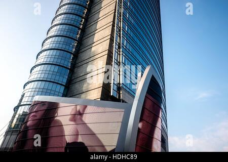Milano, Italy. 14th Nov, 2016. Unicredit Tower in Milano - Italy. It is a skyscraper in Milan, Italy. At 231 metres - Stock Photo