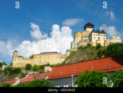 Trencin Castle, Slovakia - Stock Photo