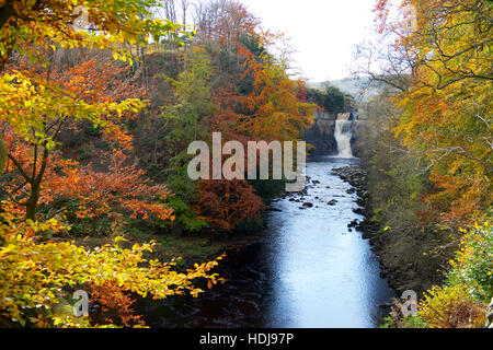 High Force Waterfall  Middleton-in-Teesdale  Co Durham - Stock Photo