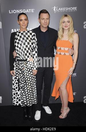 Premiere of American Pastoral  Featuring: Jennifer Connelly, Ewan McGregor, Dakota Fanning Where: Los Angeles, California, - Stock Photo